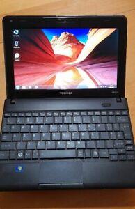 "Toshiba 10""  Laptop Windows 7 Professional + Microsoft Office Professional"