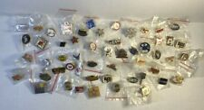 Large Lot of 52 Wendy's Vintage Early Employee Advertising Pins Pin.  1995-2016