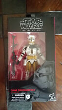 Star Wars Black Series, Clone Commander Bly! NIB 6in.