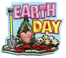 Girl Boy Cub EARTH DAY Blue Event Patches Crests Badges SCOUT GUIDE Celebration