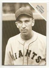 1988 Conlon 1933 National All Stars - Carl Hubbell - New York Giants