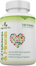 A-Z Multi Vitamins & Minerals 180 Tablets - One a Day Complex For Men and Women