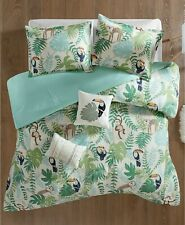 Urban Habitat Kids 5 Piece Comforter Set Tropical Tangle Full/Queen Jungle