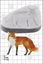 Moule Silicone Fox Nourriture Usage FPC Décoration en pâte à sucre