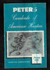 """1950's Peters/DuPont Sporting Ammunition 'Cavalcade of American Hunters"""" Booklet"""