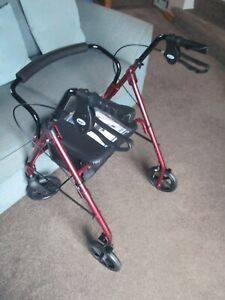 Clean &  Tidy  Days 100 Series Lightweight Rollator. Folding. Indoor Use Only.