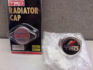 Toyota TRD Oil Cap & Radiator Cap Genuine OE