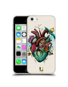 HEAD CASE DESIGNS heart FLOWER body Hard CASE FOR APPLE iPHONE 6s + Plus PHONES