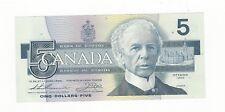 1986 Canada $5 Note,Thi/Cro BC-56b, Ser # GNA 6061673