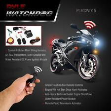 New Motorcycle Alarm Security System With 2 Remotes +High Power speaker Plmcwd15