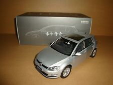 1/18 2013 all new  volkswagen Golf 7 silver color