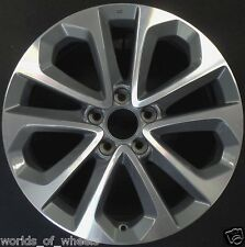 "Honda Accord 2013 2014 2015 18"" Machined & Grey Factory OEM Wheel Rim 64048 U35"