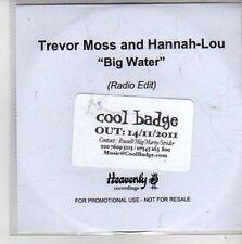 (CG892) Trevor Moss & Hannah-Lou, Big Water - 2011 DJ CD