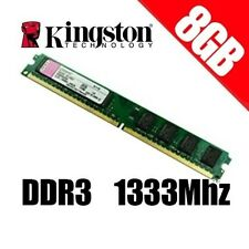 RAM KINGSTON DDR3 8GB KVR1333D3N9/8G PC3 1333MHz 1333 PC3-10600