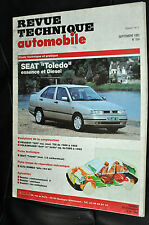 Revue technique automobile Seat Toledo essence et diesel N° 554