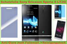 2 x Anti reflex Glare Display Schutz Folie Sony Ericsson Xperia S LT26i matt SET