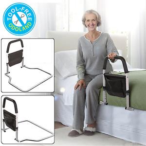 Bed Rail for Elderly Adjustable Hospital Grade Safety Bedrail Adult Bed Handrail