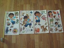30+ Diego Animal Rescue Go Peel & Stick  Wall Decal on original backing