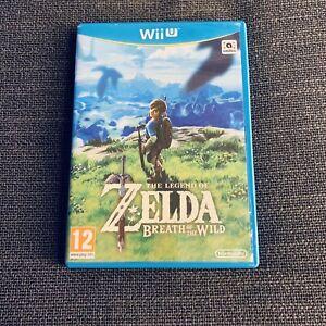 Nintendo Wii U : The Legend of Zelda Breath Of The Wild- excellent état