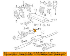 GM OEM Exhaust-Converter & Pipe Gasket 22678452