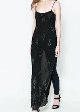 Zara Full Length Polyester Maxi Dresses for Women