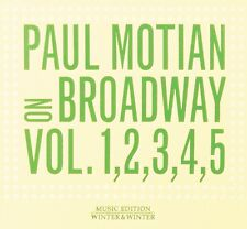 Paul Motian ‎On Broadway Vol. 1-5 ( 5 CD - Compilation - Box Set )