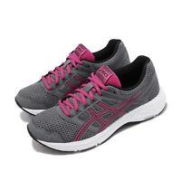Asics Gel-Contend 5 D Wide Grey Fuchsia Purple Women Running Shoes 1012A231-021