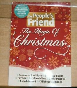The People's Friend The Magic of Christmas magazine 2021 Traditions Food & Drink