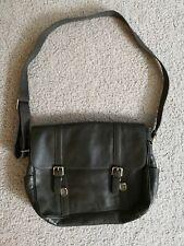 Fossil Men's Leather Messenger Bag