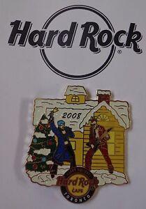 Hard Rock Cafe Broche Toronto Happy Vacances 2008 Édition Limitée 100