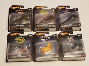 Hot Wheels Batman DC Batmobile Penguin Duck Justice League Batcopter Decal Lot