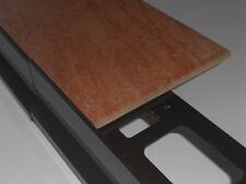 Profilo per terrazze e balconi Proterrace alluminio testa di moro PCG1258055
