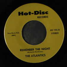 ATLANTICS / JULIE STEVENS: Remember The Night / Blue Mood 45 (re)