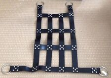 New Black Leather Bondage American Adult Sex Sling Swing Harness Heavy FREEPOST