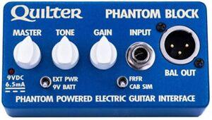 Quilter Phantom Block Phantom Electric Guitar Interface.  Free U.S. Shipping!