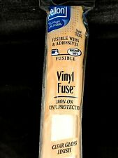 "Pellon Vinyl Fuse Iron-on Clear Gloss Finish 15"" x 2 yards Style# 100R"