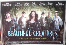 Cinema Poster: BEAUTIFUL CREATURES 2013 (Quad) Jeremy Irons Emma Thomson