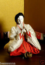 "Meiji 3.35""  Pre-1912 Asian Lady-in-Waiting Hina Doll  AAD4161415ah Ex. Small"