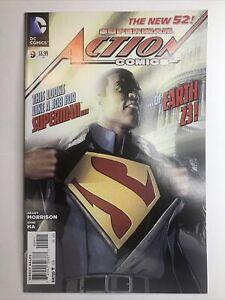 Action Comics #9 (2012 DC Comics) 1st Print New 52 1st Calvin Harris