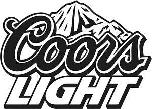 MEDIUM LIGHT BEER DRINK DECAL, VINYL STICKER,DECOR, FOR WALL,GARDEN BAR,MAN CAVE