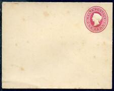 Malta Queen Victoria 1d postal stationery envelope soiled mint (2017/07/07#11)