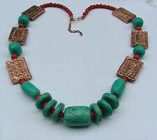 Copper Stone Statement Costume Necklaces & Pendants