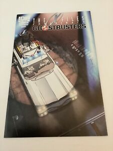 The X Files Conspiracy Ghostbusters #1 Comic Book (2014 IDW) Sub Cover Variant