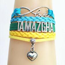 Bracelet  drapeau  TAMAZGHA Afrique du Nord  infinite love