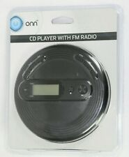 Onn Onb15Av201 Personal Cd Player with Fm Radio