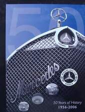 BOEK/LIVRE : MERCEDES BENZ CLUB AMERICA 50 years of historie (oldtimer,sl,pagode
