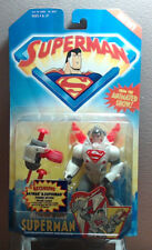 "Superman Animated Series Neutron Star Superman 5""in Figure Kenner 1996"