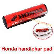 Honda Handlebar Pad Motorcycle Red Crossbar Dirt Bike ATV Motocross Bar Grip 1x