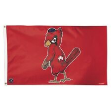 St Louis Cardinals Cooperstown Logo Flag 3x5 MLB Authentic Licensed Banner