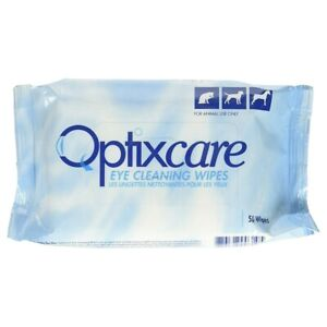 Optixcare Eye Cleaning Wipes 50pk